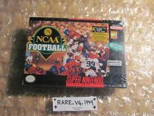 NCAA Football (Super Nintendo Entertainment System, 1994) Brand New Sealed