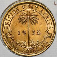 British West Africa 1938 Shilling UNC 297711 combine
