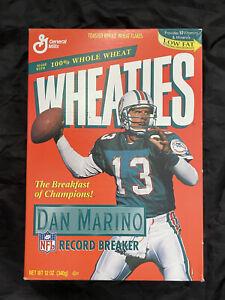 Dan Marino WHEATIES Box from 1995 - HOF DAN MARINO Record Breaker🐬