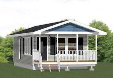 16x32 Tiny House -- 511 sq ft -- PDF Floor Plan -- Model 2G