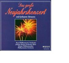 Das Grosse Neujahrskonzert mit  Johann Strauß RUDOLF KEMPE KARAJAN FRANCEK.. Neu