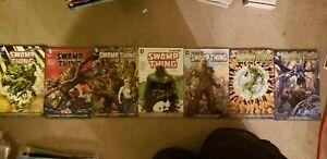 Swamp Thing TPB Lot, 1 2 3 4 5 6 7, New 52 Scott Snyder DC, Jeff Lemire