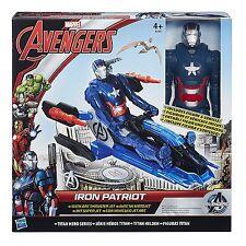 Hasbro Avengers Titan Hero -Iron Patriot con Veicolo Jet- Marvel b1491