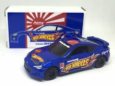 JAPAN TOMY TOMICA HOTWHEELS MOTORSPORTS SUBARU BRZ 1/60 DIECAST CAR RARE LIMITED