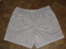 Men's Starter Athletic Shorts White Size 3XL 48-50