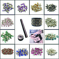 10mm Acrylic Diamante Rivets Studs for DIY Clothing Purses Bag Crafts Decoration