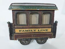 Vintage Trolley Car Picture Family Photo Frame