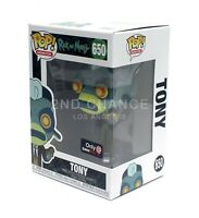 Funko Pop Rick and Morty TONY King of Sh*t Gamestop Exclusive Vinyl Figure MINT