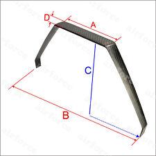 1X YAK 26CC-35CC Carbon Fiber Landing Gear 135x410x195x30mm For RC Plane  AF #01