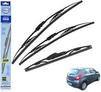 "Hyundai i20 2009-on standard wiper blades set of 24""16""12"" alca SPECIAL"