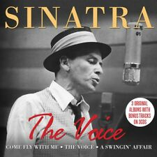 Frank Sinatra - The Voice - 3 Original Albums (3CD 2008) NEW/SEALED