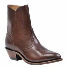 8203 Boots Boulet marron en cuir made in CANADA HOMME
