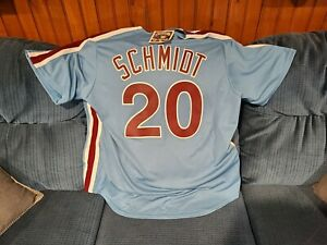 Philadelphia Phillies Mike Schmidt Cooperstown Collection Jersey X Large