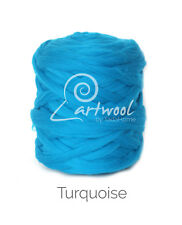 Turquoise  -  1 kg 100% Merino Wool Giant Chunky Yarn Arm Knitting
