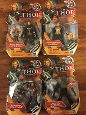 MARVELThor the Mighty Avenger Action figure lot of 4, Fandral, Volstagg, Hogun