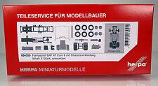 Herpa LKW 084550 Fahrgestell Zugmaschine DAF XF Euro6 mit Chassisverkleidung 2 x