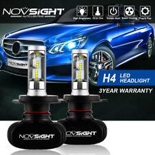 NOVSIGHT 8000LM H4 9003 HB2 Car LED Headlight Bulb Lamp Hi/Low Beam 6500K White