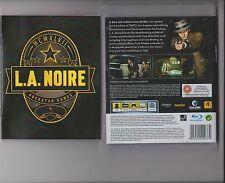 L.A NOIRE PLAYSTATION 3 PS3 PS 3 ROCKSTAR GAME LA NOIRE