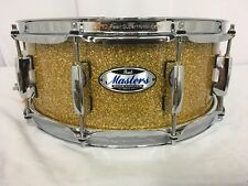 """Pearl Masters Complete MCT 14"""" X 5.5"""" Snare Drum/#347/Bombay Gold Sparkle/New"""