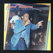 LINVAL THOMPSON Rescue Lover GLORY GOLD GG003 US Press VINYL LP DANCEHALL EX