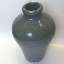 Chinese Small Vase Green Celadon Crackle Glaze (Song Style) 8.5cm