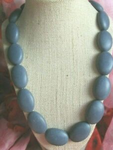 ~ Blue Resin Bead Necklace ~ Individual Jewellery Piece ~