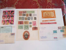 U.S. STAMP COLLECTION: $1 ELVIS STAMP SHEET, BACK OF THE BOOK & MUCH MORE