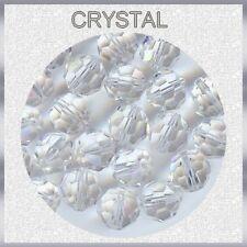 5000 6 C *** 12 perles RONDES de Swarovski 6mm CRYSTAL