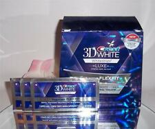 Crest 3D White Luxe Supreme Flexfit Whitestrips Dental Teeth Whitening 6 Strips