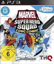Sony PS3 Playstation 3 * Marvel Super Hero Squad Comic Combat (uDraw) ***NEU*NEW