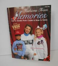 New~Fashions from Memories~How to transfer photo copies & more+Iron-on Transfers