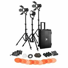 NanGuang LED Fresnel Light CN30FC/3K Kit with hard trolley case (NGCN30FC/3KHC)