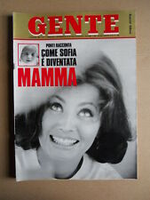 GENTE n°2 1969 Sofia Loren Farah Diba Patty Pravo - Speciale Apollo 8 [D52]