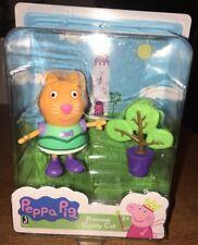 Peppa Pig * PRINCESS CANDY CAT * w/Tree Figurine Toy Mini Play Set 2+ New in Box