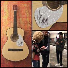 GFA Karen & Kimberly * LITTLE BIG TOWN * Band Signed Acoustic Guitar PROOF COA