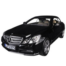 Norev 183543 2010 Mercedes Benz E 500 Class Cabriolet 1:18 Model Car Black