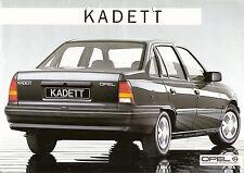 Prospetto/brochure OPEL KADETT 09/1985