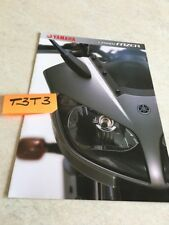 Yamaha FZS1000 Fazer FZS 1000 moto prospectus brochure publicité prospekt pub