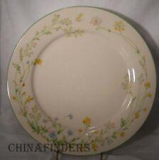 "NORITAKE china REVERIE 7191 Green Trim Dinner Plate - 10-5/8"""