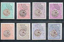 Serie des timbres Préoblitérés N° YT 138 à 145 neufs **