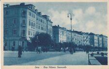 Postcard Yugoslavia Croatia Zara Riva Vittorio Emanuele