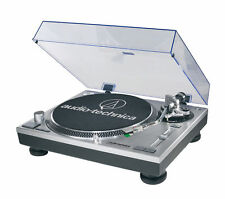 Audio-Technica AT-LP120-USB Direct-Drive Professional Turntable (USB and Analog) - Silver
