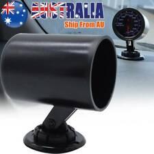 "52mm 2"" Universal Single Hole Gauge Holder Pod Pillar ABS Turbo Boost Temp Press"