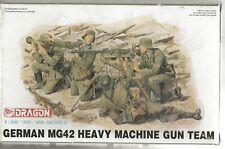 Dragon German MG42 Heavy Machine Gun Team, Figures (4) in 1/35  6064  A2