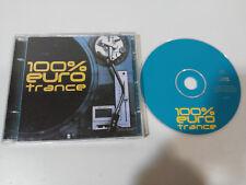 100% EURO TRANCE COMPILATION BY DAVID PRADO & CONSUELO NUÑEZ MEXICO CITY CD