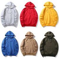Men Winter Hoodie Warm Pullover Fleece Sweatshirt Hooded Hoody Coat Sweater Tops