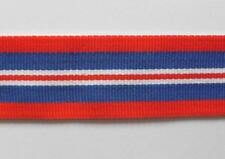 "WWII. 1939 - 1945 BRITISH WAR MEDAL FULL SIZE REPLACEMENT RIBBON ( 6"" LONG )."