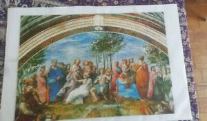 """PUZZLE 1000 """"LE PARNASSE"""" du peintre RAFAEL chez Clementoni - Museum Collection"""