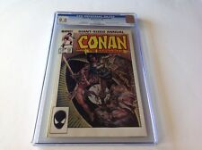 CONAN THE BARBARIAN ANNUAL 10 CGC 9.8 WHITE PAGES MARVEL COMICS TINY CRACK CASE