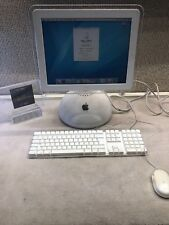"APPLE G4 IMAC GLOBE~15"" 700MHZ~KEYBOARD MOUSE~COLLECTABLE"